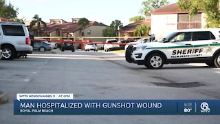 Detectives investigating shooting in Royal Palm Beach