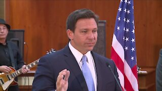 Governor DeSantis signs COVID liability bill today