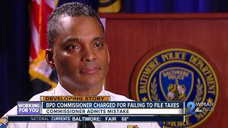 Residents react to charges filed against Baltimore Police Commissioner Darryl De Sousa - Video
