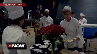 Chefs gear up to benefit friend with ALS at Iron Event - Video