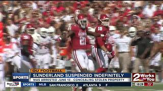Oklahoma Football suspends Safety Will Sunderland indefinitely - Video
