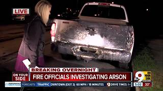 Fire officials investigating Evanston arson - Video
