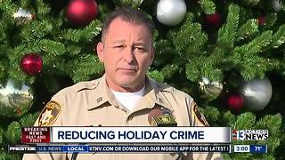 Las Vegas police talk about holiday crime - Video
