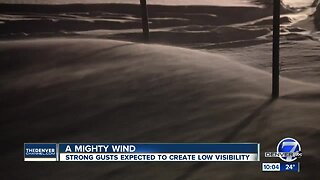 High winds expected across Colorado