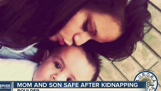 Mom, son safe after alleged kidnapping - Video