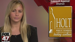 Holt grad files lawsuit against district - Video