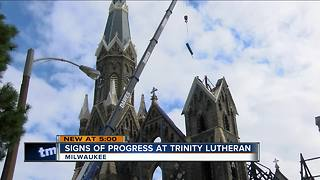 Historic organ removed from Trinity Lutheran Church [VIDEO]