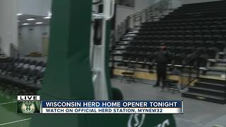 The Herd Home opener arena - Video