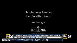 Anti-heroin PSA prize winner - Video