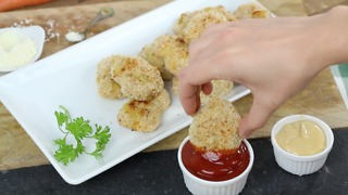Sneaky Veggie Chicken Nuggets - Video