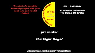 Hey Bartender from the Blues Brothers, performed by the Cigar Boys!