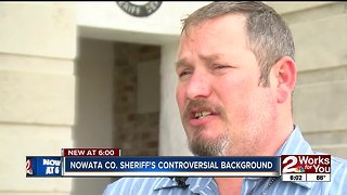 Nowata County Sheriff's controversial background