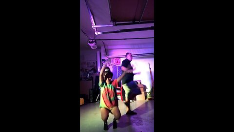 Video with over 3 million views of a girl who escapes her mother to groove-out with her dad in a Texas garage
