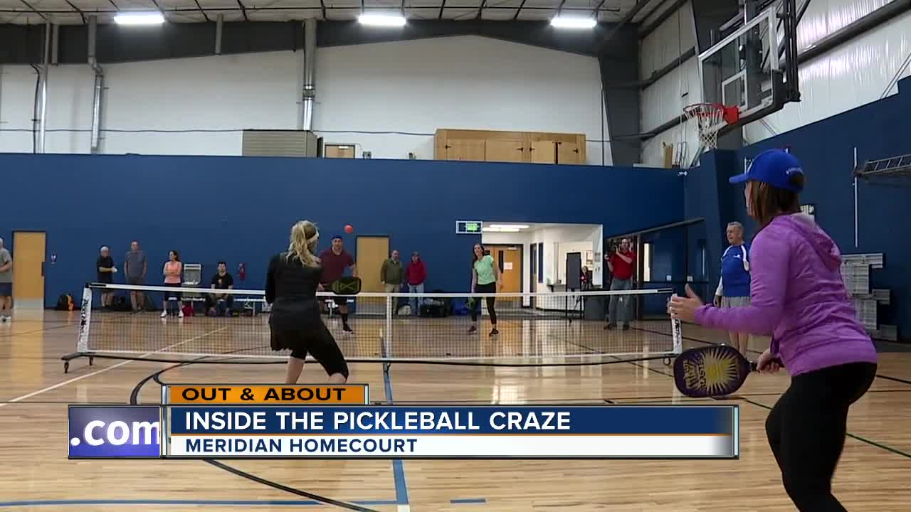 Out & About: Pickleball