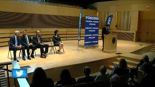 Foxconn announces initiative with colleges - Video