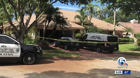 Police, crime scene investigators respond to Boca Raton neighborhood