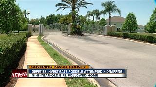 Deputies investigate possible attempted kidnapping - Video