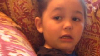 A Little Girl Gets Confused By An Ultrasound In Her Birthday Card - Video