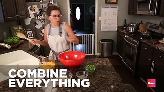 How to make stuffed peppers with Elissa the Mom | Rare Life - Video