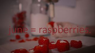 Eat the Season: Panna cotta stuffed raspberries - Video