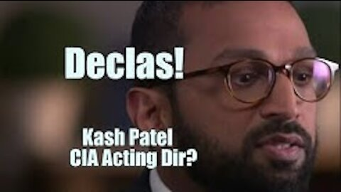 Declas! Patel Acting CIA Dir? Gene on Courts of Heaven. B2T Show Jan 15, 2021 (IS)