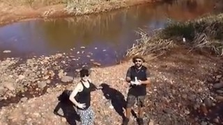 Boyfriend's Drone Records Surprise - Video