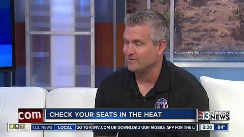 Henderson Professional Fire Fighters urge people to 'check your seats in the heat'