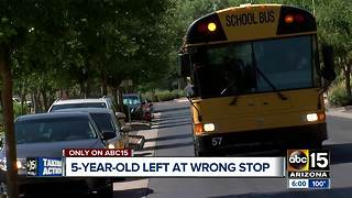 5-year-old dropped off at wrong stop, father asking for answers - Video