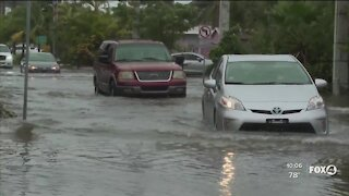 Tropical Storm Eta causes flooding in Fort Myers Beach