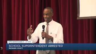 Broward County Public Schools superintendent arrested on perjury charge