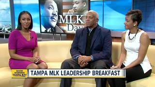 Tampa honors legacy of Martin Luther King jr. with 38th Annual Leadership Breakfast - Video