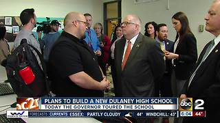 Governor Hogan weighs in on decision to build new Dulaney High School - Video