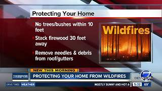 Protecting your home from wildfires - Video