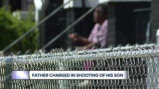 Detroit father charged in shooting of his 3-year-old son - Video