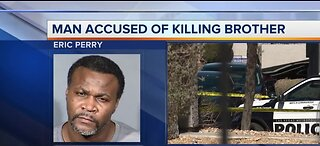 Man accused of killing brother