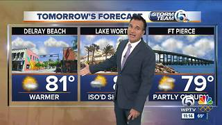 Saturday night 11pm weathercast - Video