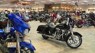 Small towns: Harley Davidson Shop