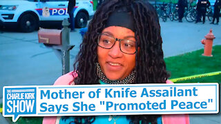 """Mother of Knife Assailant Says She """"Promoted Peace"""""""