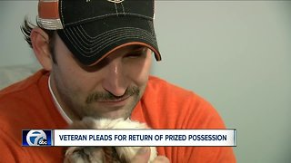 Niagara Falls veteran wants stolen motorcycle returned