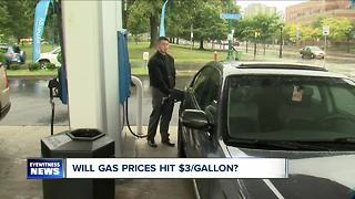 WNY gas prices could hit $3/gallon - Video