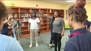Program helps Cleveland school girls cope with trauma and works towards preventing suicide