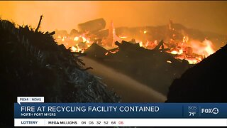 MW Horticulture fire under control