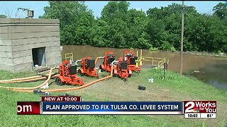 Plan approved to fix Tulsa County levee system
