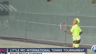 Little Mo International Tennis Tournament - Video