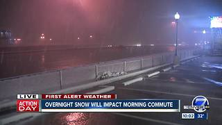 First Alert Action Day: Snow in Denver - Video