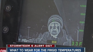 What to wear to keep warm if you're out in the cold - Video
