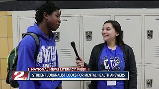 National News Literacy Week: Student journalist looks for mental health answers