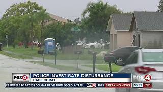 Police Investigation Disturbance - Video