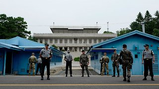 North Korean Art Troupe Heading To Olympics May Cross DMZ On Foot - Video