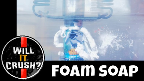 Star Wars foam soap: Will it crush?